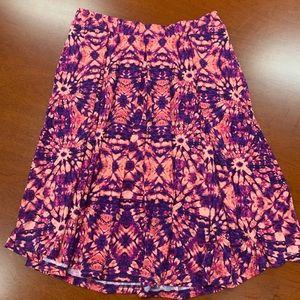 LuLaRoe Madison Tie Dye Print L